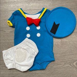 Donald Duck Costume Size 12M